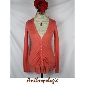 Anthropologie Rosie Neira Button Trail Cardigan S